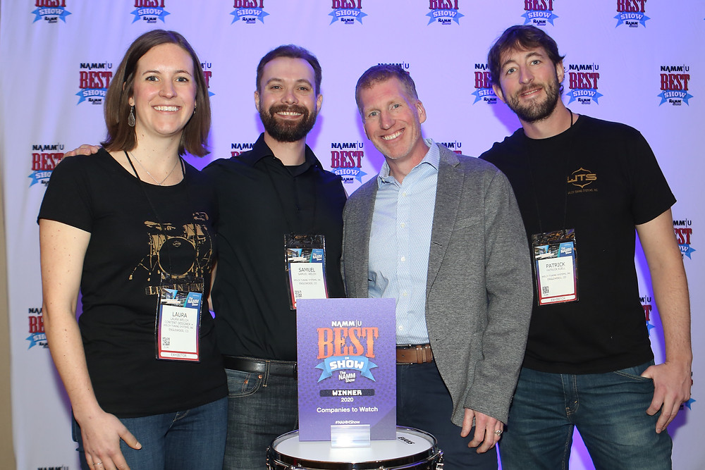 Welch Tuning Systems wins 2020 NAMM Show Best In Show - team photo