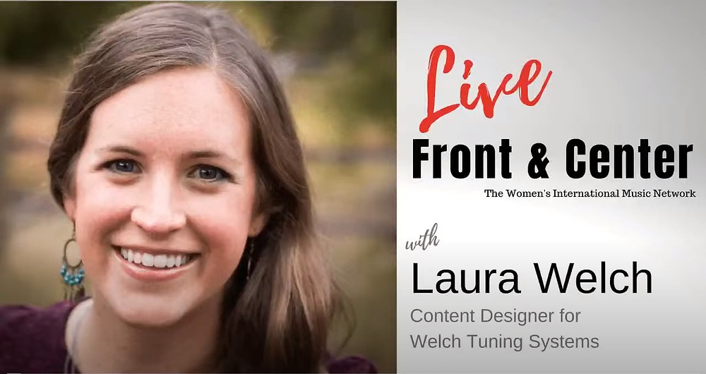 LIVE: Front & Center, Laura Welch, Content Designer For Welch Tuning Systems, Inc.