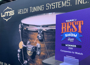 WTS Wins Best In Show at the 2020 NAMM Show!