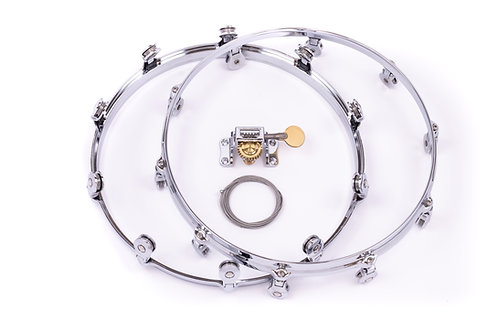WTS Snare Drum Hardware Kit | Welch Tuning System for building new drums | WTS single-point drum tuning hardware