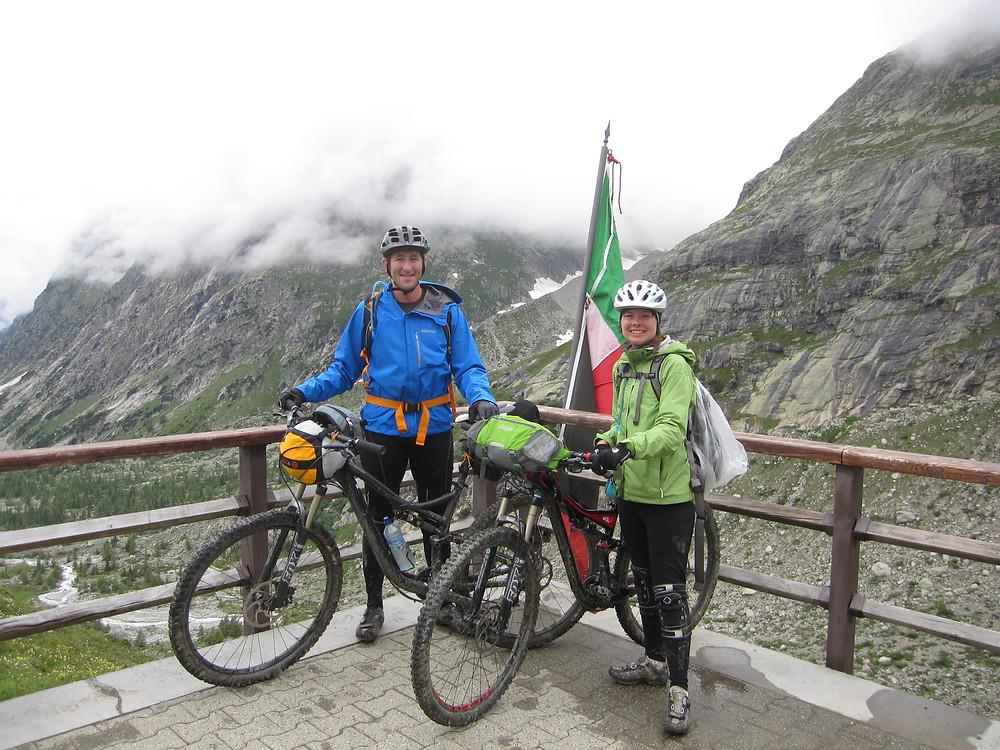 Biking the Tour de Monte Blanc