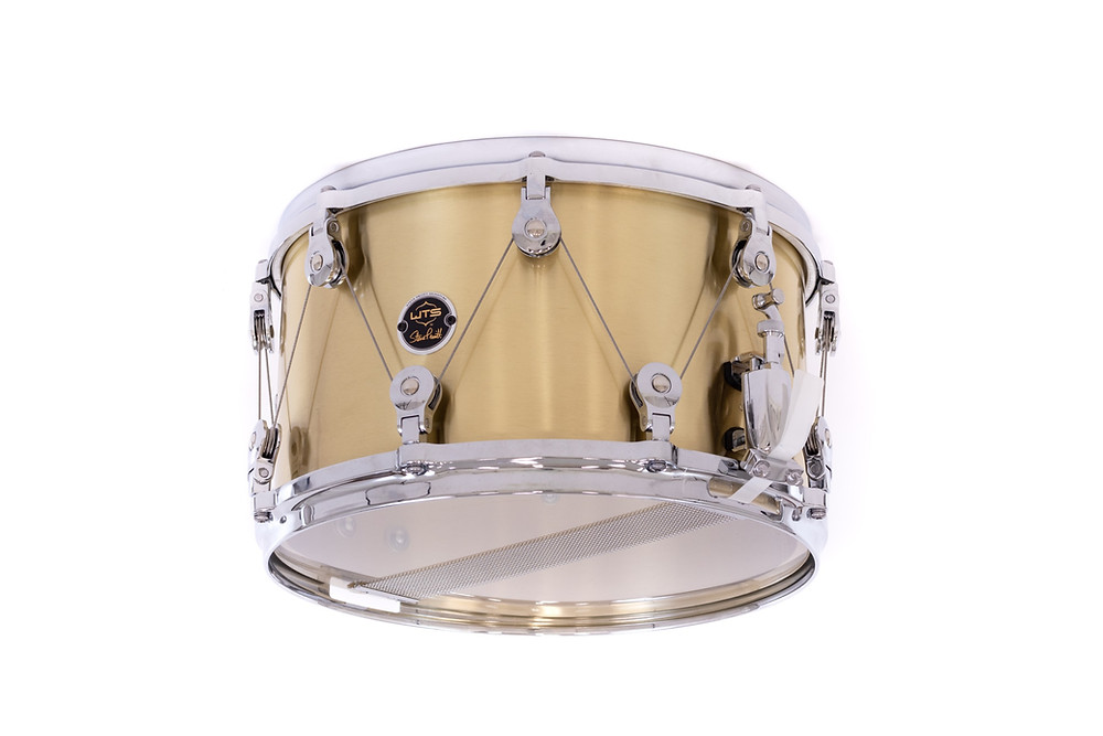 WTS Steve Pruitt Signature Snare | Brass Drum from WTS Drums | Welch Tuning Systems