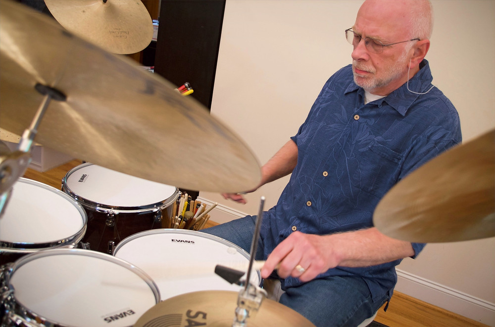 Drummer Fred Taylor playing WTS Artistry Series drum kit