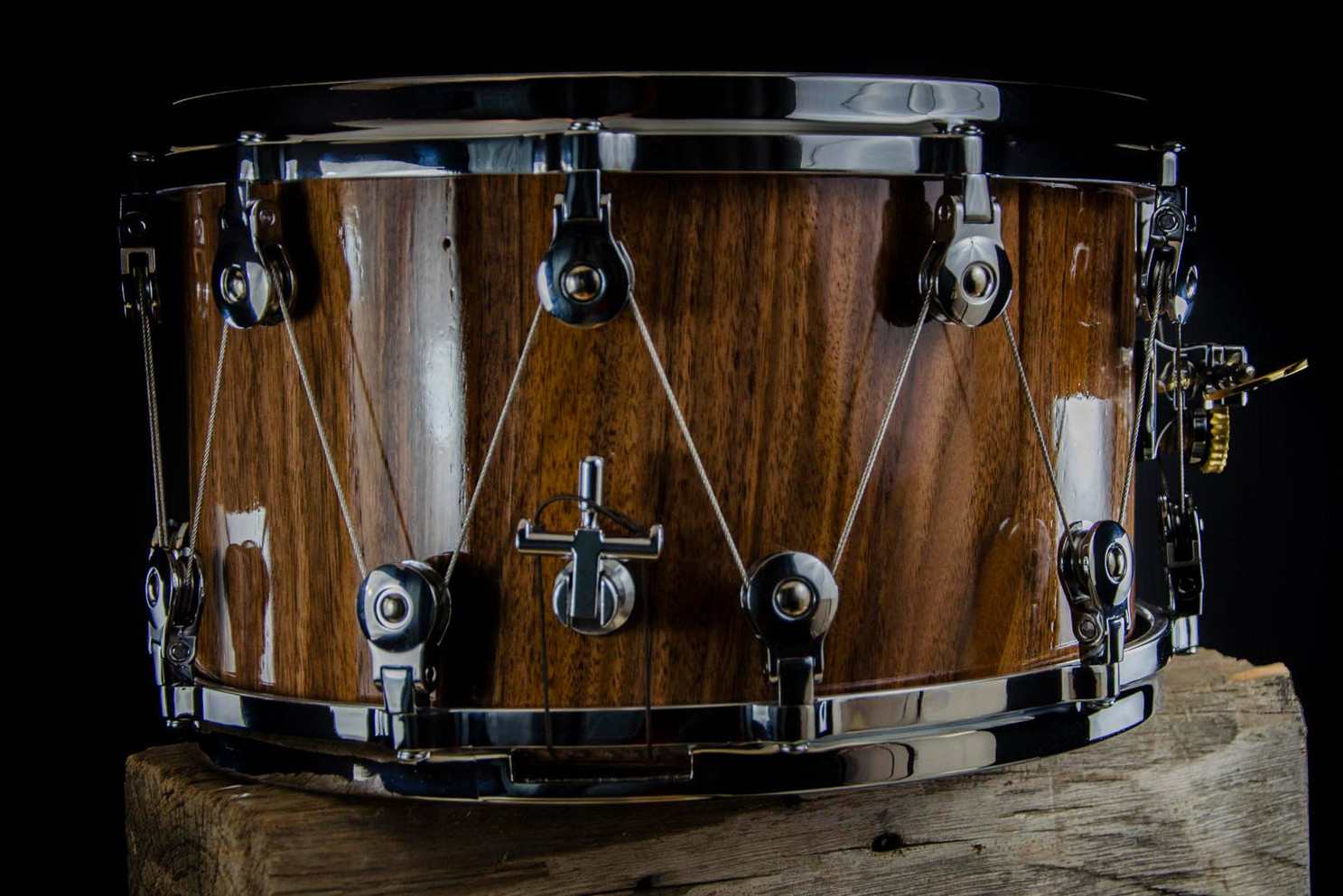 Outlaw Drums snare drum with WTS tuning hardware