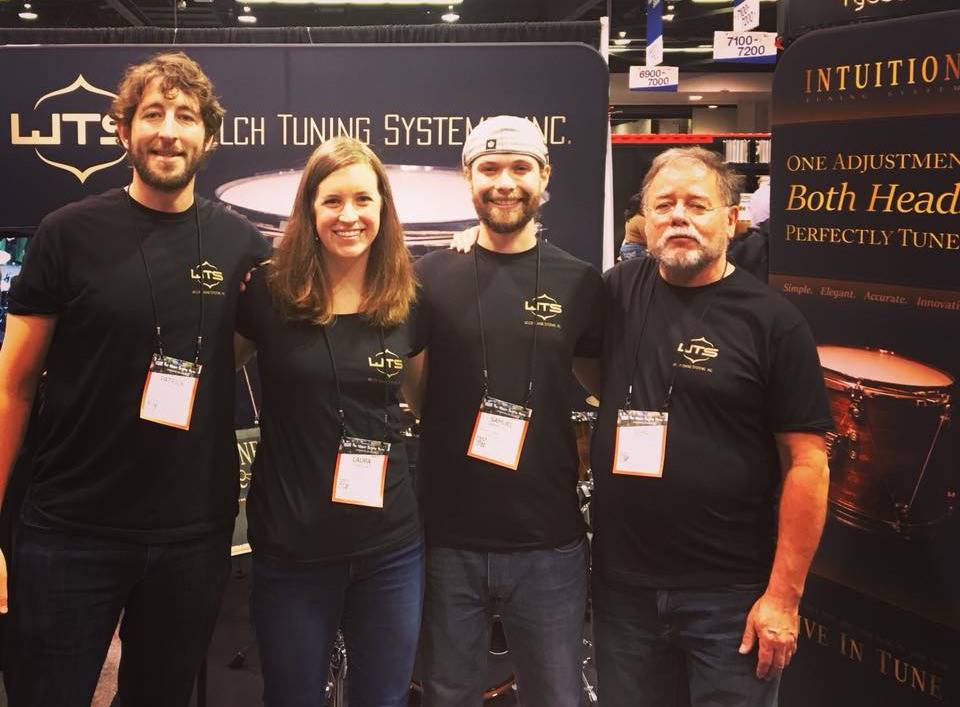 Welch Tuning Systems, Inc. team at NAMM Show 2018