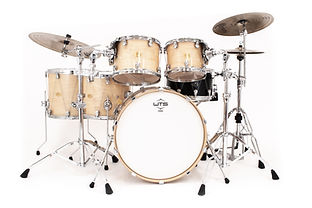 WTS Artistry Series drums with Welch Tuning System hardware