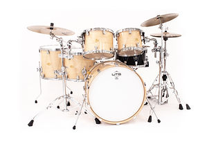 Drums for the professional artist // WTS 5pc drum kit with rack toms, floor toms, bass drum, and WTS snare drum