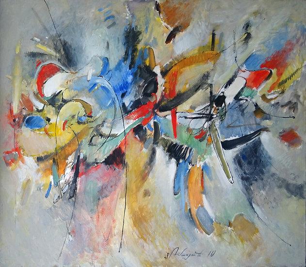 Yuri Tumasyan \ Yuri Tumasyan - Composition # 8 \ Composition # 8 - 85x100 sm