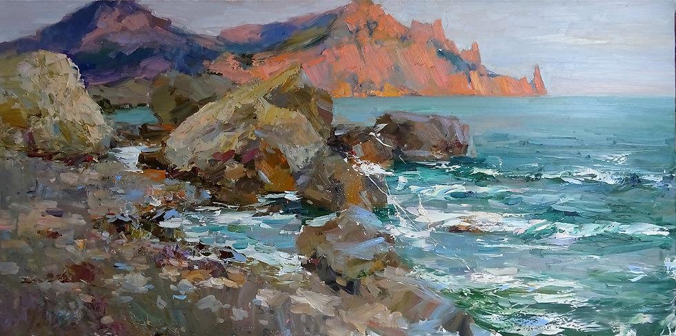 Rustem Stakhurskiy \ Rustem Stakhurskiy - Coast \ Coast - 60x120
