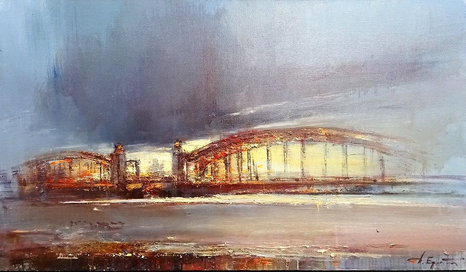 Ермолов Дмитрий / Ermolov Dmitry - Мост Петра Великого \ Bridge of Peter I