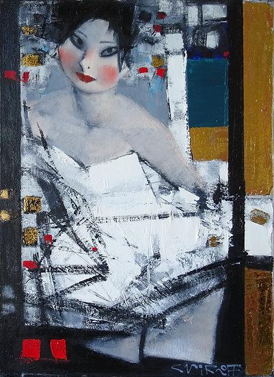 Smirnov Andrey / Andrey Smirnoff - Sophie \ Sophie - 70x50 cm