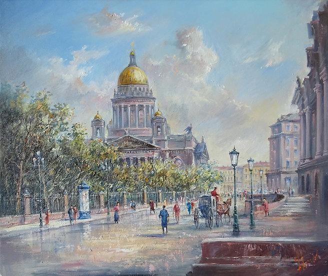 Юрий Степанов / Yuri Stepanov - Петербург \ St. Petersburg - 50x60 sm