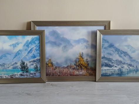 Прекрасные горные пейзажи кисти Дениса Октября