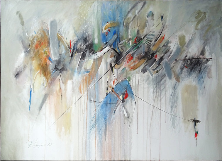Юрий Тумасян \ Yuri Tumasyan – Другой мир \ Another world – 100x140 sm