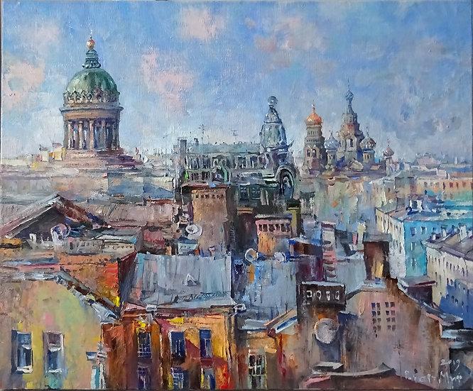 Роберт Миф - Петербургские крыши