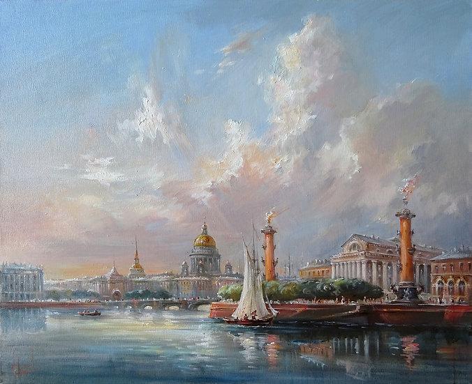 Юрий Степанов / Yuri Stepanov - Стрелка \ Vasitievsy island