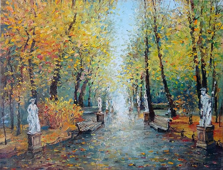 Роберт Миф - Осень в Летнем саду