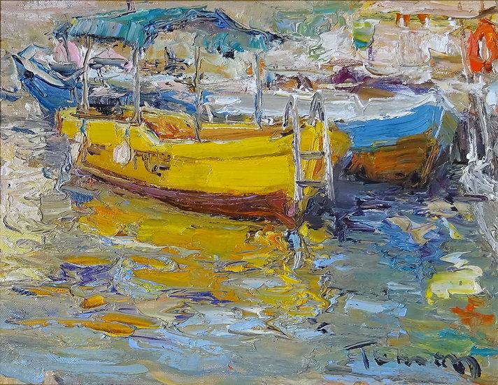 Жумабаев Туман -  Лодки. Балаклава \ Boats