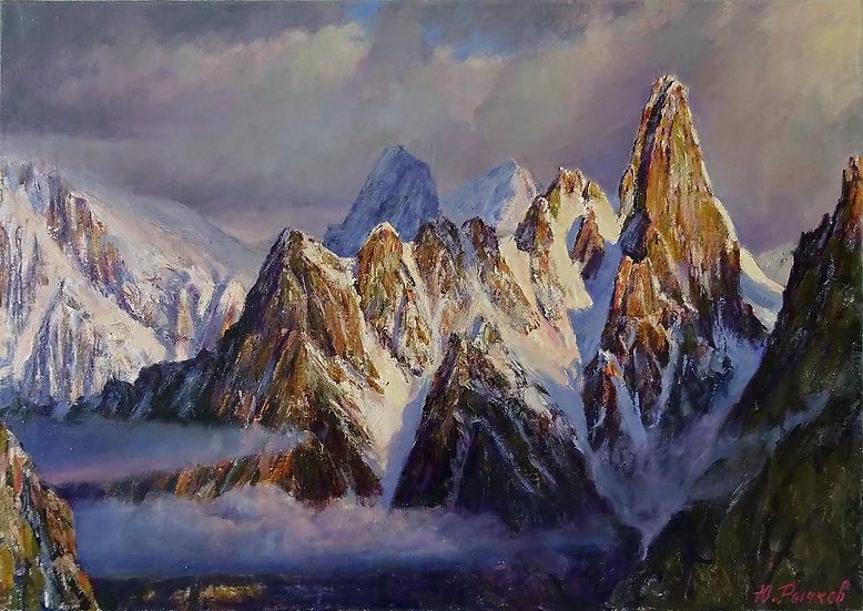 Юрий Рычков  –  Альпы / Alps