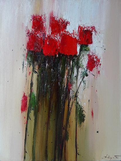 Ермолов Дмитрий / Ermolov Dmitry - Розы / Roses - 80x60 sm