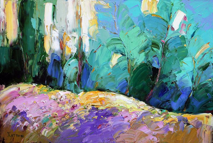 Хаттин Валерий / Khattin Valery - Пейзаж  \ Landscape - 60х90sm