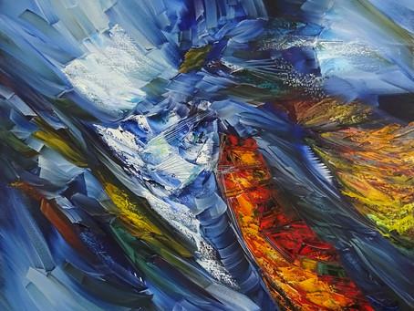 Мастер абстрактных композиций