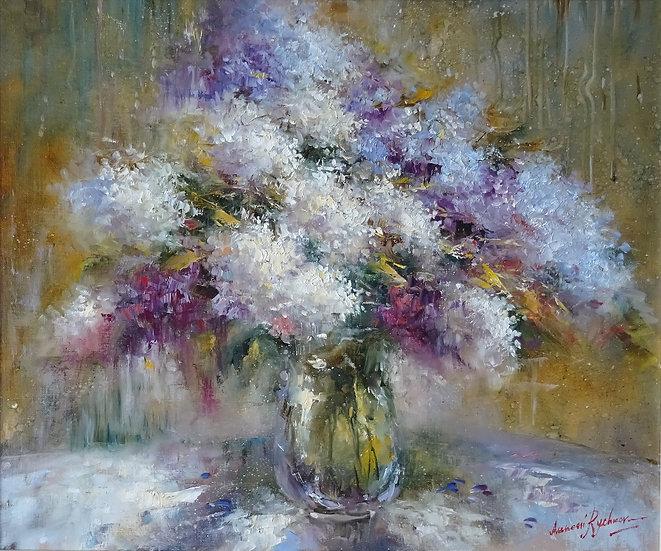 Алексей Рычков \ Alexey Rychkov  - Летний букет \ Summer bouquet - 50x60