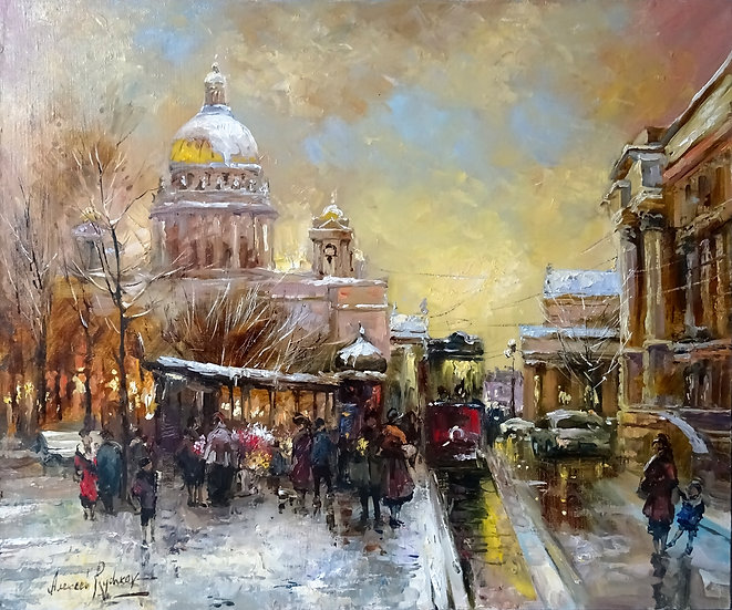Алексей Рычков - Зимний Петербург \Winter in Saint-Petersburg