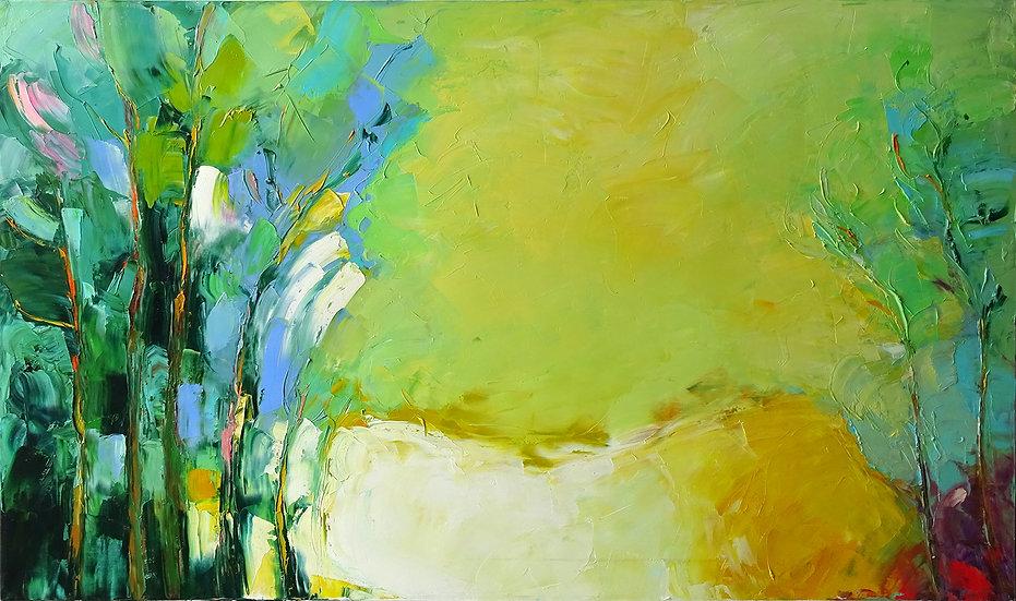 Хаттин Валерий / Khattin Valery - Пейзаж  \ Landscape - 60х100sm