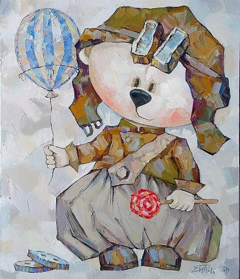 Елена Бутузова \ Elena Butuzova - Юный воздухоплаватель \ Young balloonist