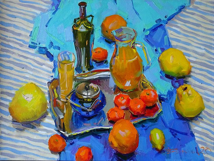 Vladimir Bazhenov \ Vladimir Bazhenov - Summer still life \ Summer Still life - 60