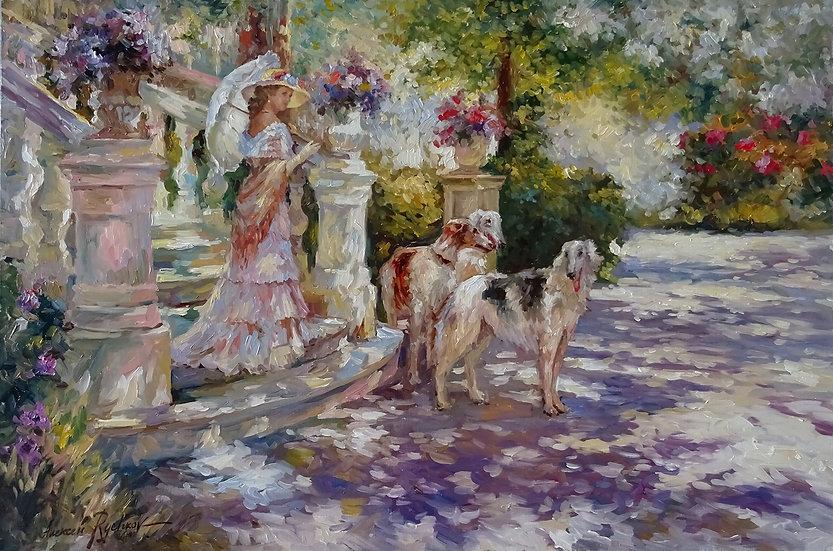 Рычков Алексей - В летнем саду