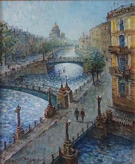 Роберт Миф - В городе каналов и мостов