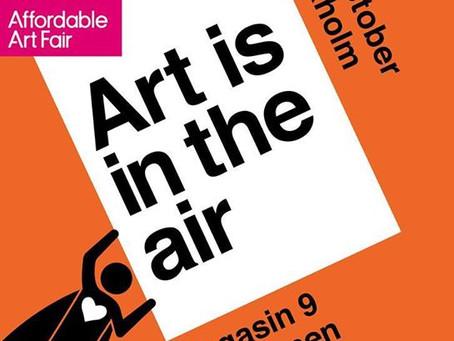 Уроки классического искусства в Швеции на Affordable Art Fair Stockholm