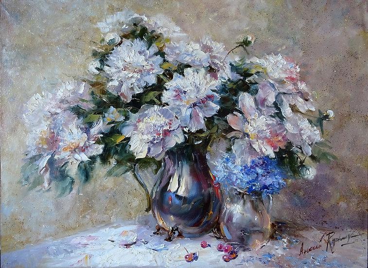 Рычков Алексей - Летний букет \ Summer bouquet - 60x80