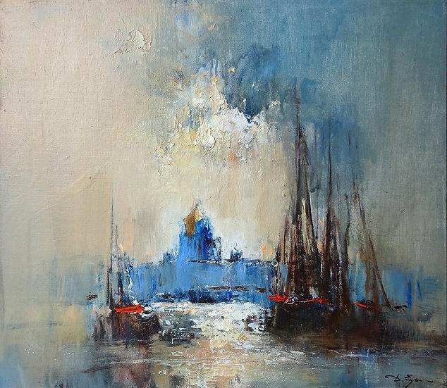 Ермолов Дмитрий - Корабли на Неве \ Boats on the river
