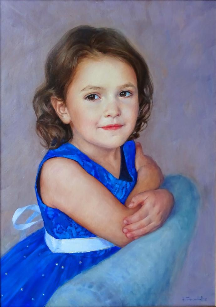 Анна Баженова - Портрет Софии - 70х50
