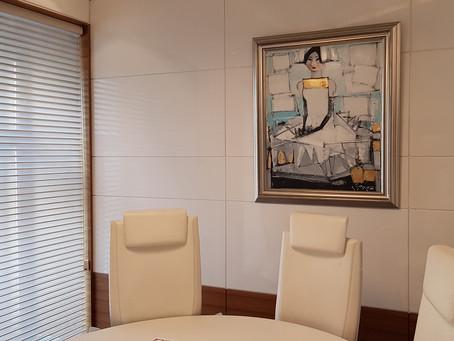 Новое выставочное пространство в офисе БКС Ультима Private Banking