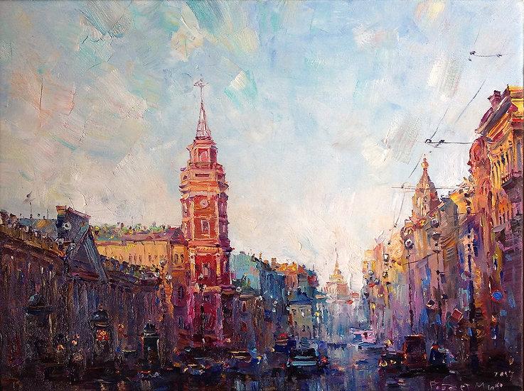 Robert Mif - Evening city