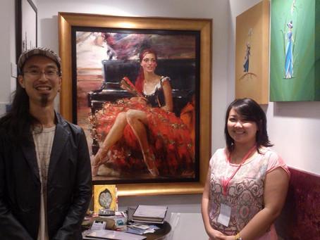 На фестивале Affordable Art Fair в Сингапуре российских живописцев представлял Владимир Ежаков