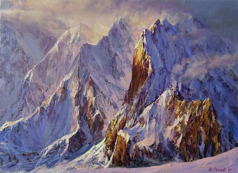 Yuri Rychkov  –  Rocks on the clouds