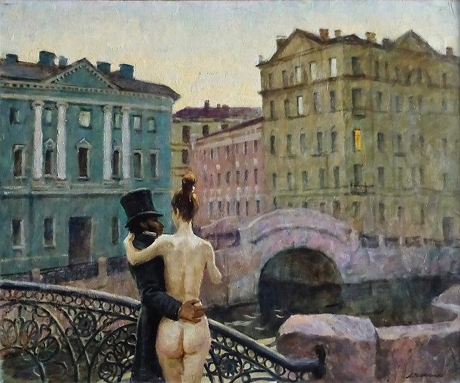 Ляпкало Виктор \ Lyapcalo Victor  - Пушкин и муза \ Pushkin and his muse