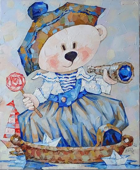 Елена Бутузова \ Elena Butuzova - Мишка моряк \ Sailor