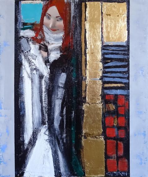 Андрей Смирнов - Портрет Марии - 90х75 с