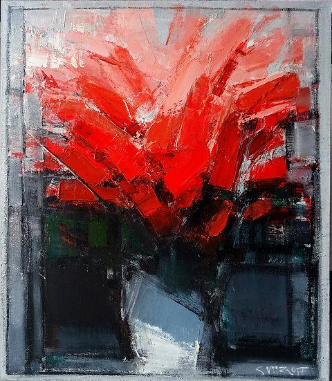 Смирнов Андрей / Andrey  Smirnoff – Красные цветы \ Red roses