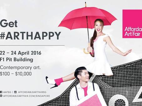 Возвращение в Сингапур, Affordable Art Fair SG