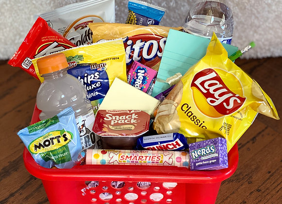 """That's A Wrap"" Final Exam Goody Basket"
