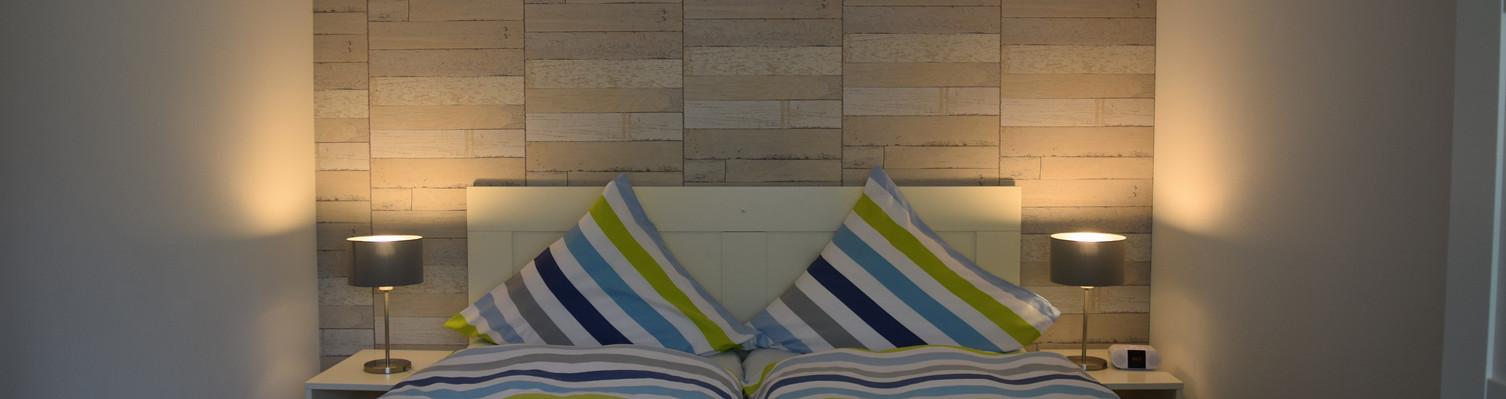 Für 2 Personen, separates Schlafzimmer