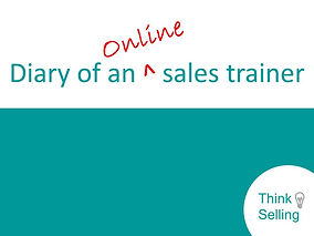 Diary of an online sales trainer Opening