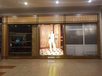 Window Display for Bonia